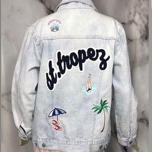 Rails Knox St. Tropez Denim Jacket, Blue, S